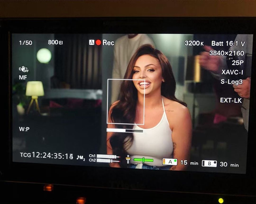Image may contain: Jesy Nelson documentary, Jesy Nelson, Little Mix, odd one out, documentary, suicide attempt, online, trolling, social media, comments, mental health, release date, trailer, BBC One, BBC Three, Interior Design, Indoors, LCD Screen, TV, Television, Human, Person, Monitor, Screen, Display, Electronics