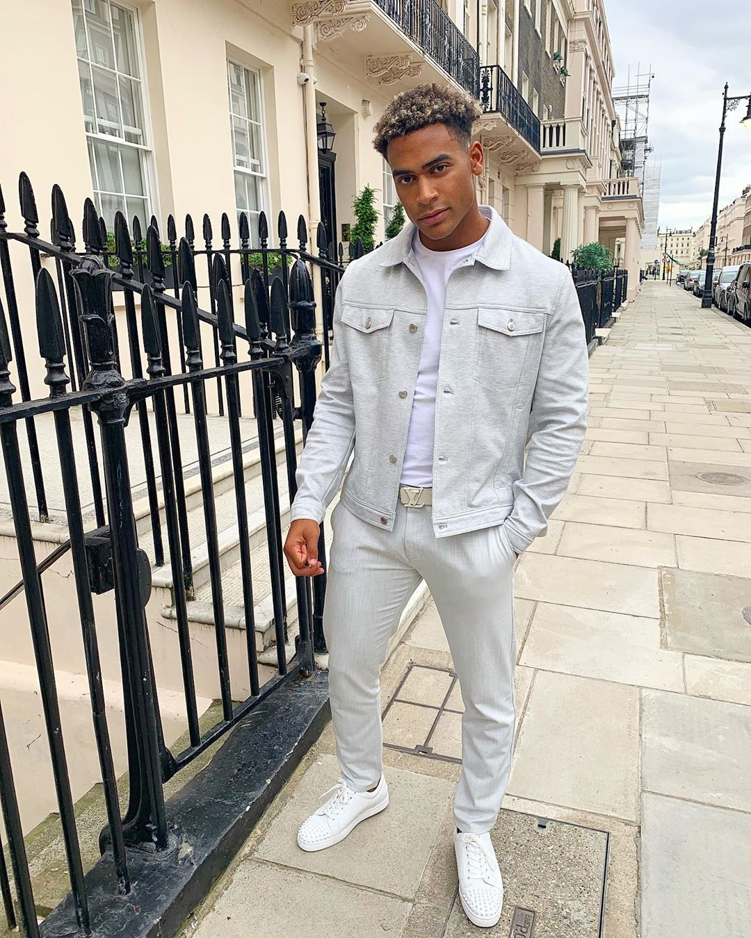 Image may contain:  Love Island 2019 contestants, Love Island, 2019, now, job, Instagram, updates, news, latest, series five, Jordan Hames, Jacket, Blazer, Man, Footwear, Shoe, Overcoat, Suit, Coat, Person, Human, Clothing, Apparel