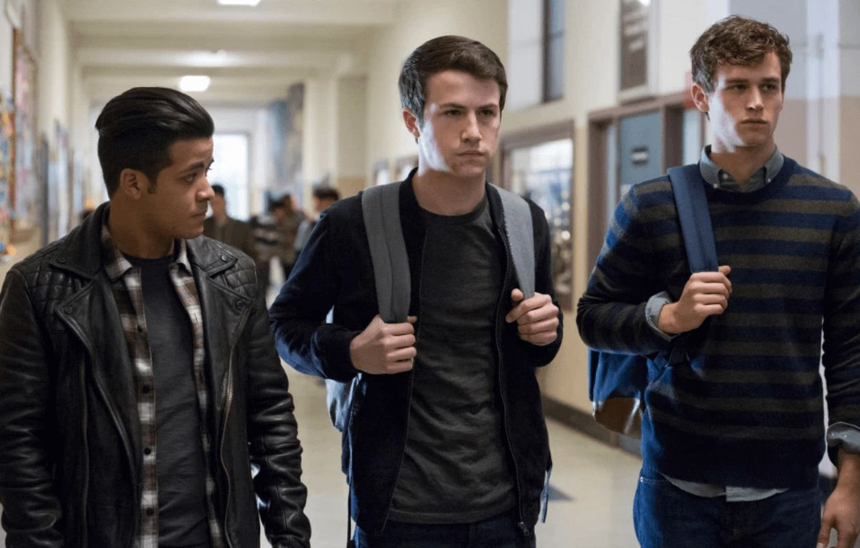 Image may contain: 13 Reasons Why season 3, 13 Reasons Why, season three, Netflix, 13RW, review, ratings, score, Rotten Tomatoes, critic, audience, Man, Leather Jacket, Person, Human, Coat, Jacket, Clothing, Apparel