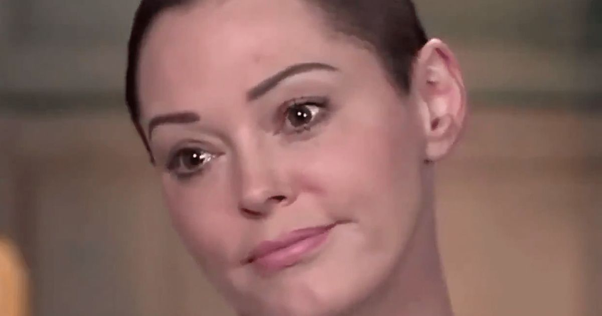 Imagine how tired we are meme of Rose McGowan is a complete mood