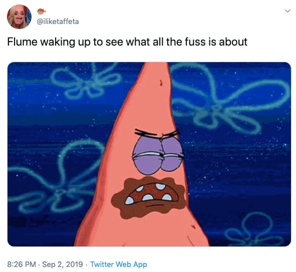 Flume ass eating video, Paige, girlfriend, meme, viral, trend, watch, DJ, Burning Man, sex, porn, public, Instagram, tweets, reactions, festival, does Flume eat ass, insta story
