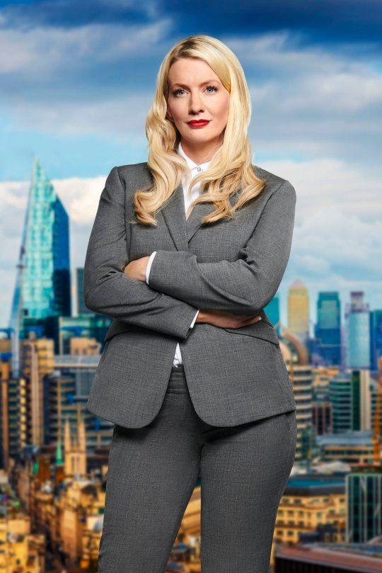 Image may contain: The Apprentice candidates 2019, The Apprentice, 2019, new, series, cast, hopefuls, candidates, lineup, contestants, Sir Alan Sugar, BBC, Marianne Rawlins, Suit, Overcoat, Woman, Office Building, Architecture, Female, Human, Person, Blazer, Jacket, Coat, Metropolis, Urban, Town, Building, High Rise, City, Clothing, Apparel