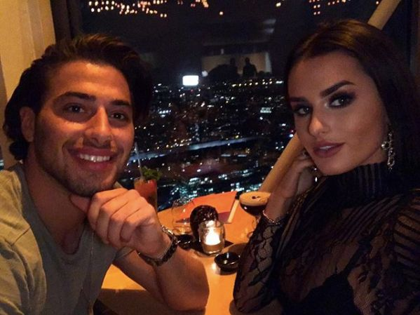 Image may contain: How Islanders spent their winnings, Love Island, 2017, winners, £50k, money, cash, spend, Kem Cetinay, Amber Davies, Woman, Nature, Head, Selfie, Outdoors, Photography, Portrait, Photo, Apparel, Clothing, Dating, Female, Smile, Lighting, Face, Person, Human