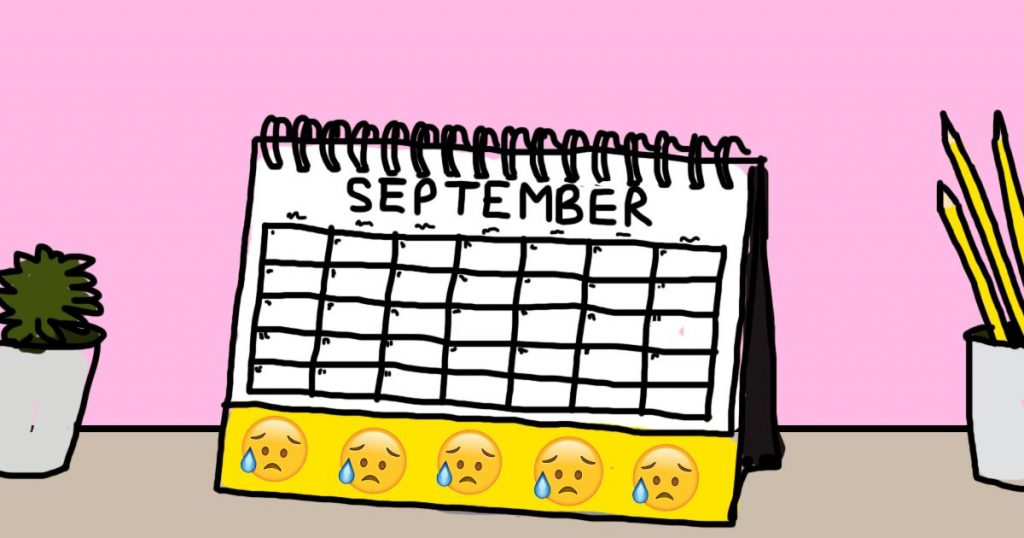Image may contain: Word, Calendar, Text