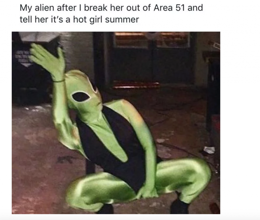 Halloween meme costumes, Halloween, costume, ideas, 2019, meme, Area 51, alien,