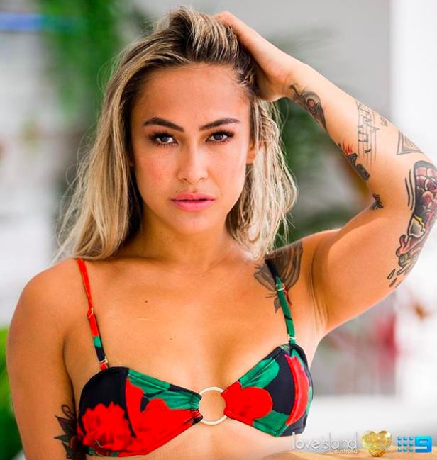 Cassie from Love Island Australia