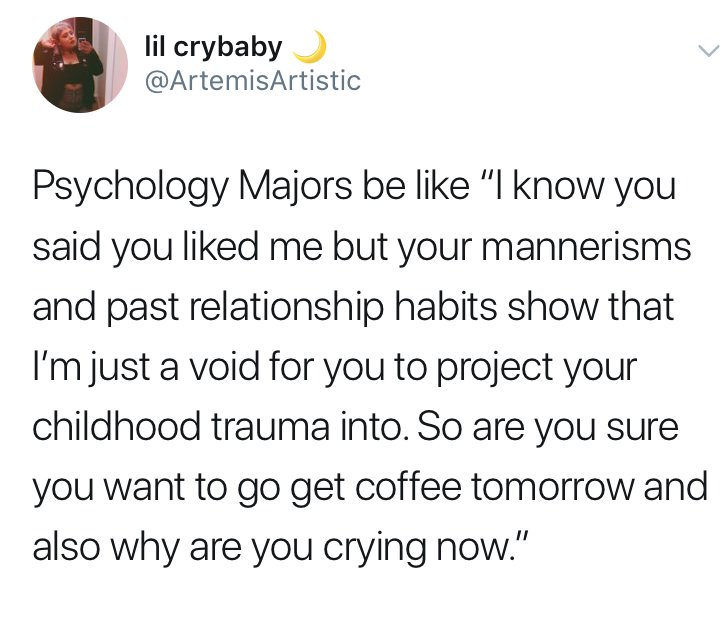 psychology major memes