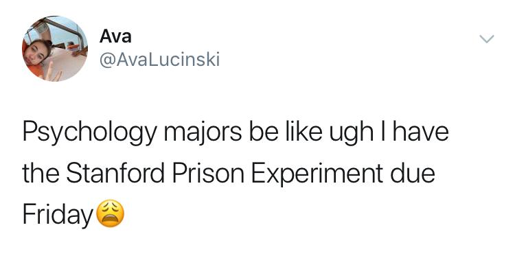 psychology major memes