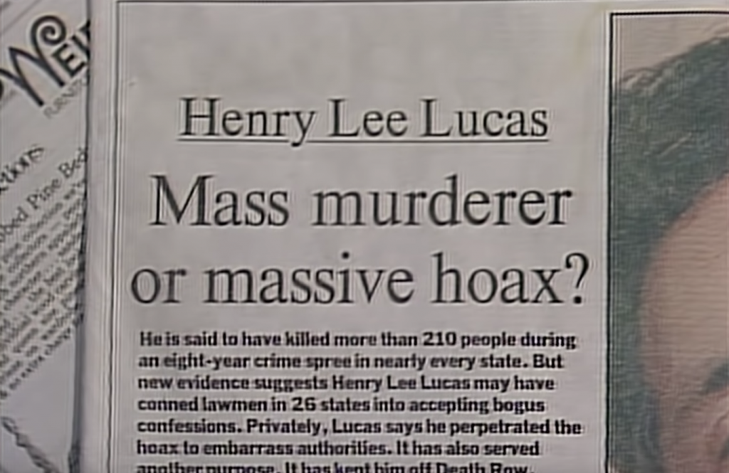 The Confession Killer, Henry Lee Lucas, true crime, documentary, Netflix, real life, prison, story, release date, trailer
