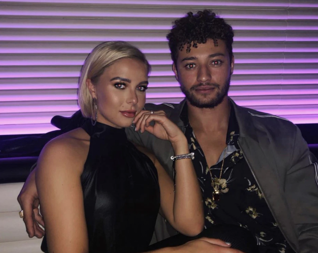 Myles Stephenson and Gabby Allen, Myles Stephenson, Gabby Allen, Rak Su, X Factor, Love Island, I'm A Celebrity Get Me Out Of Here, I'm A Celeb, together, girlfriend, relationship, ex, break up, split, cheating