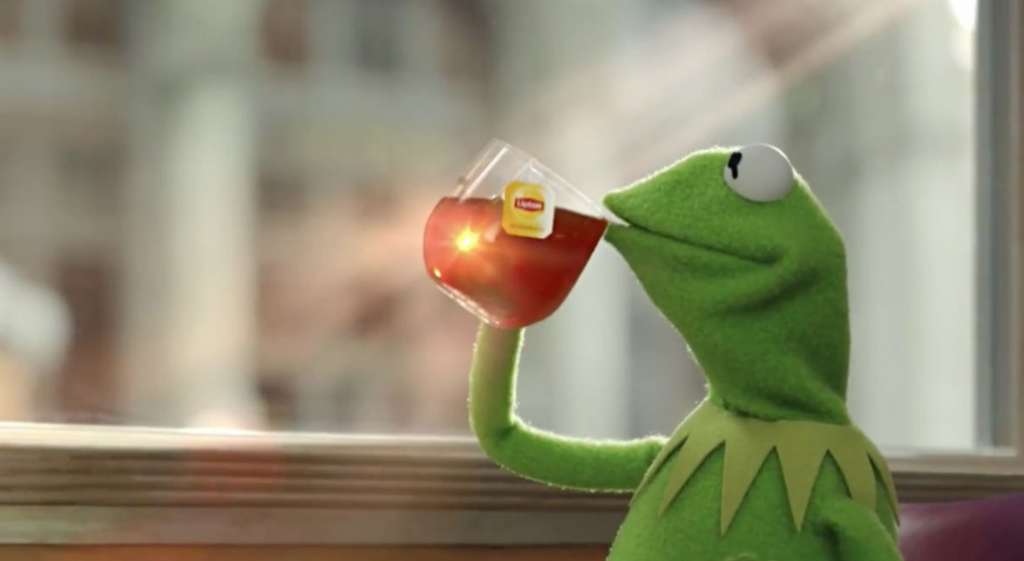Meme of the decade vote, meme of the decade, meme, best, vote, 2010s, 10 years, ever, Kermit, frog, tea, but that's none of my business