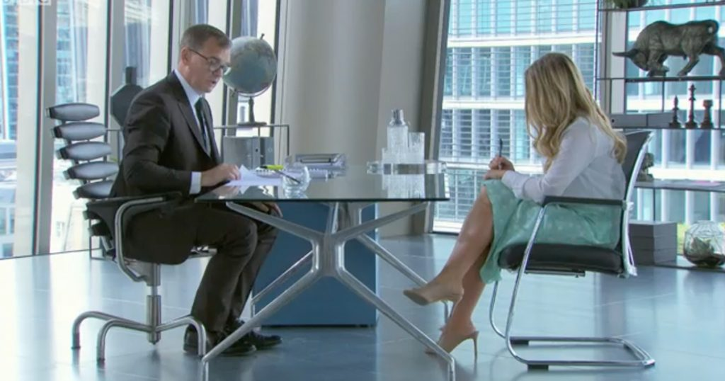 The Apprentice interviews, The Apprentice, interview, stage, moments, best, funniest, awkward, worst, ever, Pamela Laird