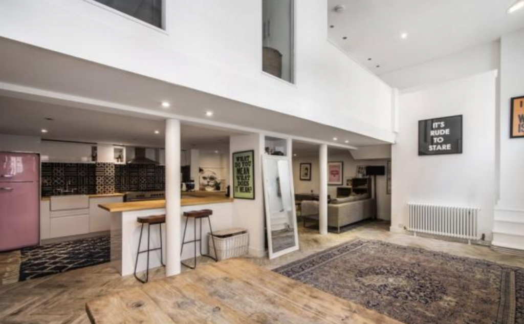 Caroline Flack flat, Caroline Flack, flat, house, Islington, where, pictures, inside, location, boyfriend, Lewis Burton, home, for sale