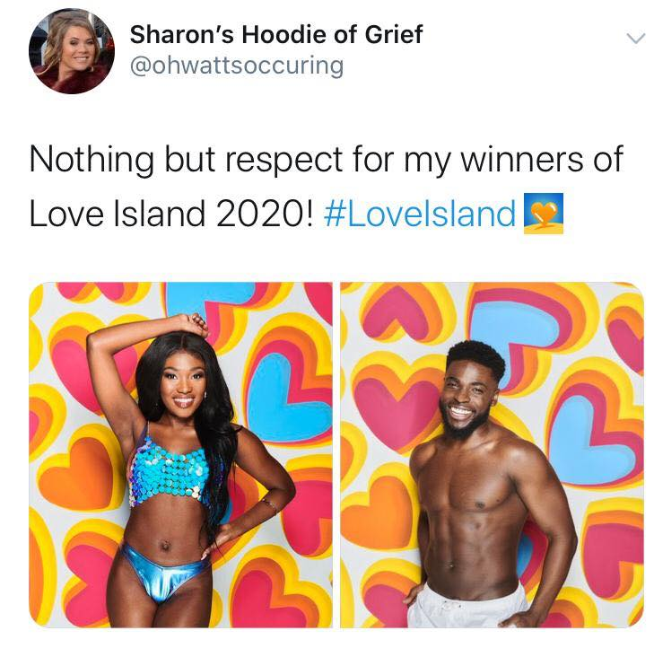 Love Island, memes, meme, reaction, Twitter, funny, savage, winter, winter love island, south africa, cape town, Leanne, Mike