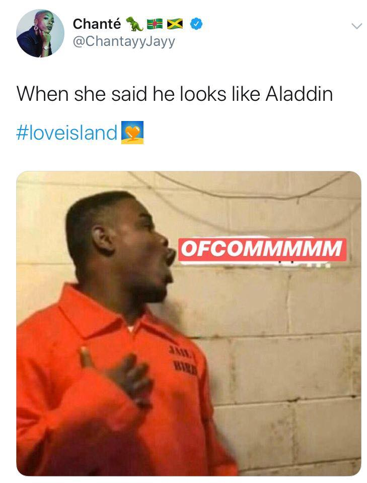 Love Island, memes, meme, reaction, Twitter, funny, savage, winter, winter love island, south africa, cape town, Nas