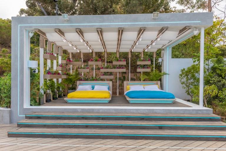 Love Island villa pictures
