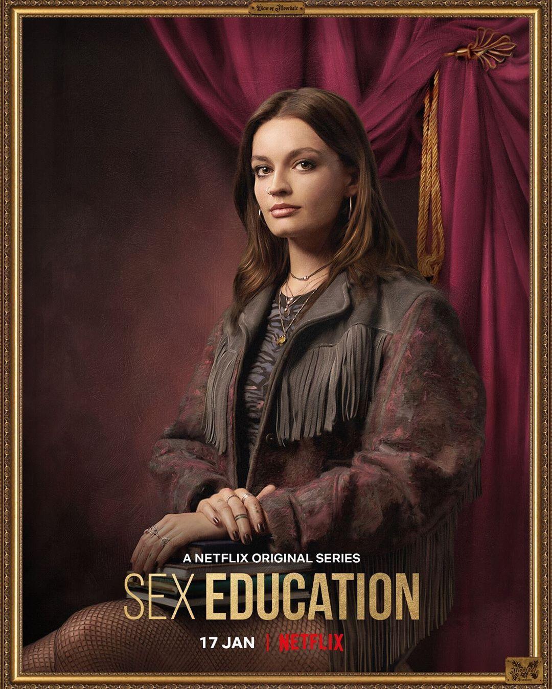 sex education, ncuti gatwa, eric, asa butterfield, tanya reynolds, patricia allison, kedar williams stirling, connor swindells, aimee lou wood, emma mackey,