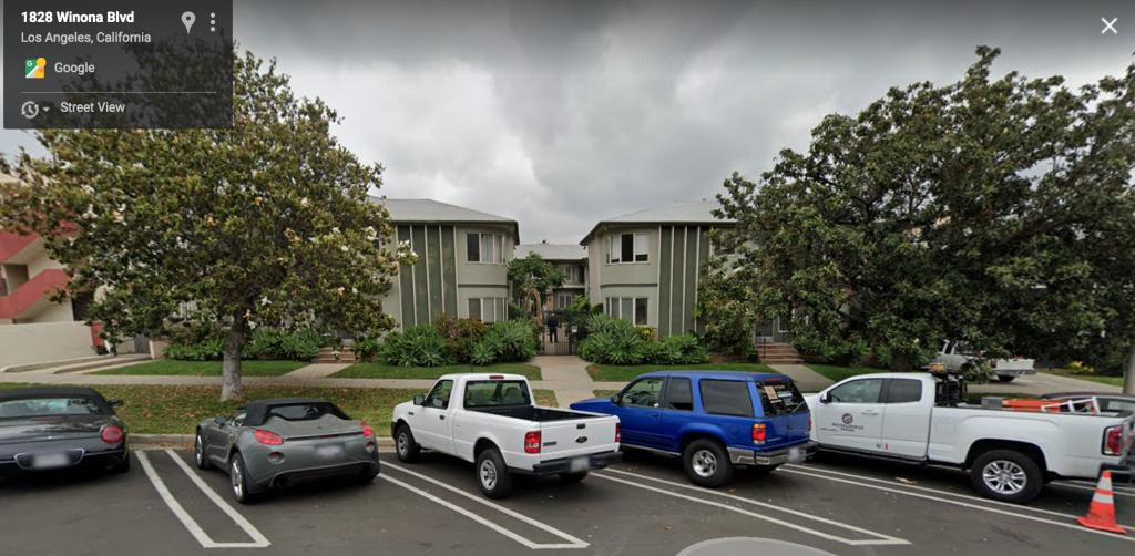Joe Goldberg, flat, apartment, complex, real life, Google Maps
