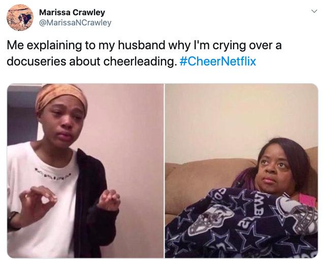 Netflix Cheer memes