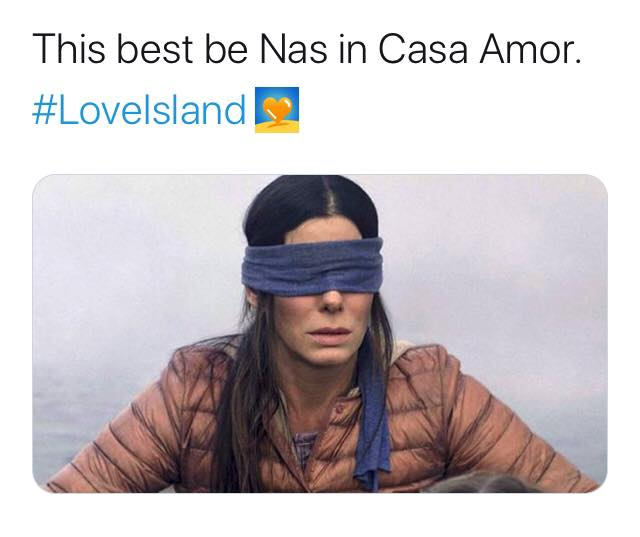 Casa Amor memes, Casa Amor, Love Island, meme, tweet, Twitter, reactions, new, girls, boys, villa, winter, 2020, Nas, Demi, Finn, Paige