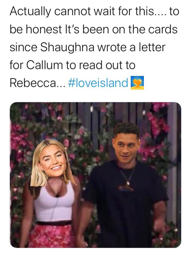 Casa Amor memes, Casa Amor, Love Island, meme, tweet, Twitter, reactions, new, girls, boys, villa, winter, 2020, Callum, Molly, Mike, Ched