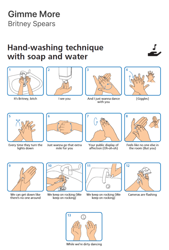washing hands memes, washing, hand, cleaning, poster, NHS, advice, coronavirus, COVID 19, hand, original, generator, Twitter, #WashYourLyrics, #WashYourHands