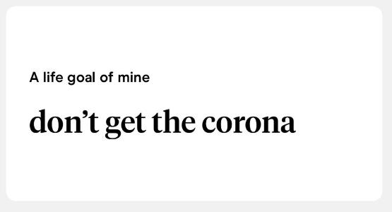 coronavirus hinge opening lines