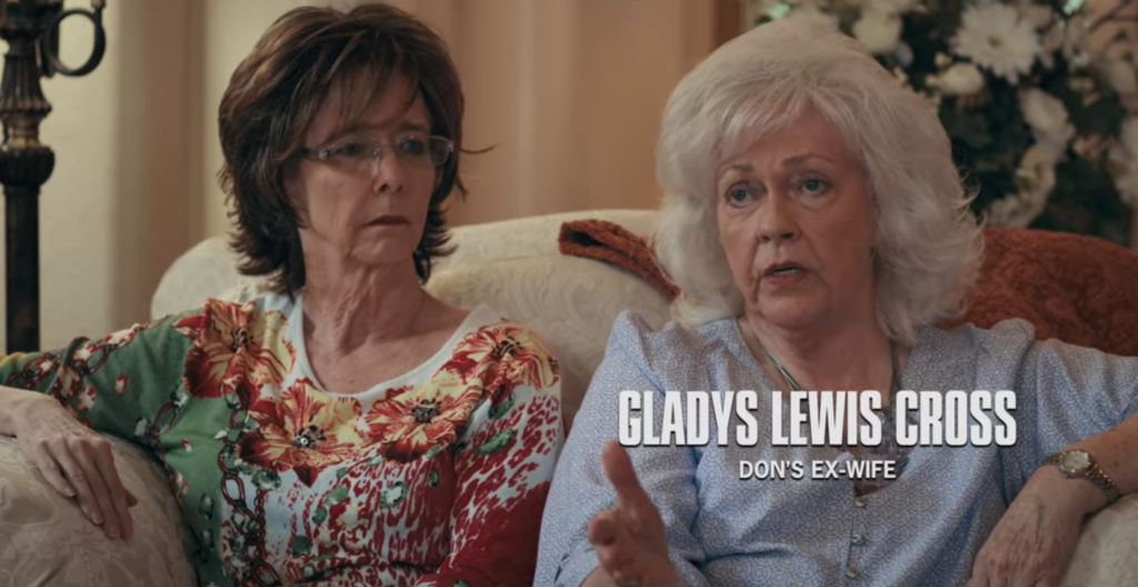 Gladys Lewis Cross, wife, daughter, interview, lies, Tiger King, Netflix, documentary, reaction, respond, Don Lewis