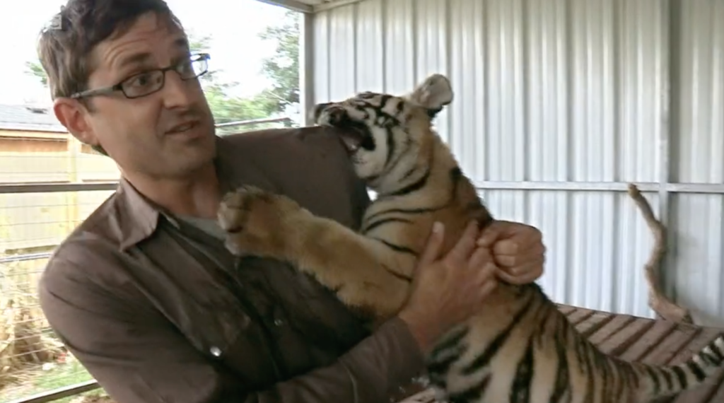 Joe Exotic, Louis Theroux, Tiger King, documentary, episode, BBC, Netflix, America's Most Dangerous Pets, watch