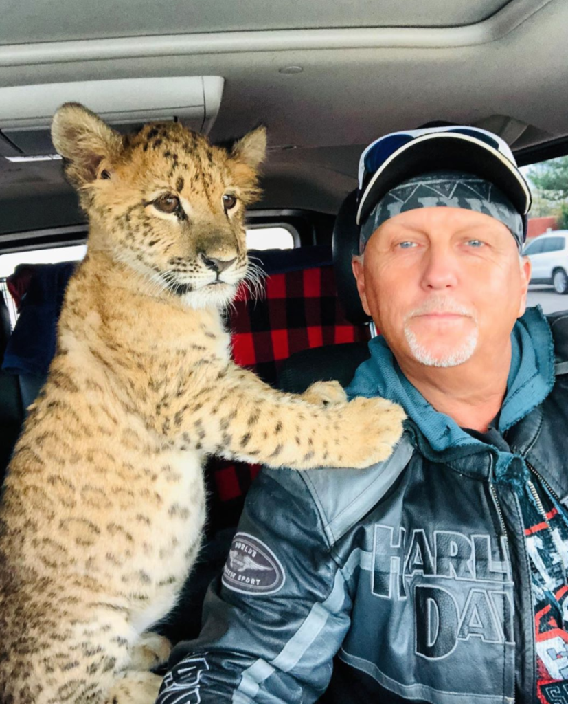 Tiger King, Instagrams, Netflix, account, social media, Jeff Lowe