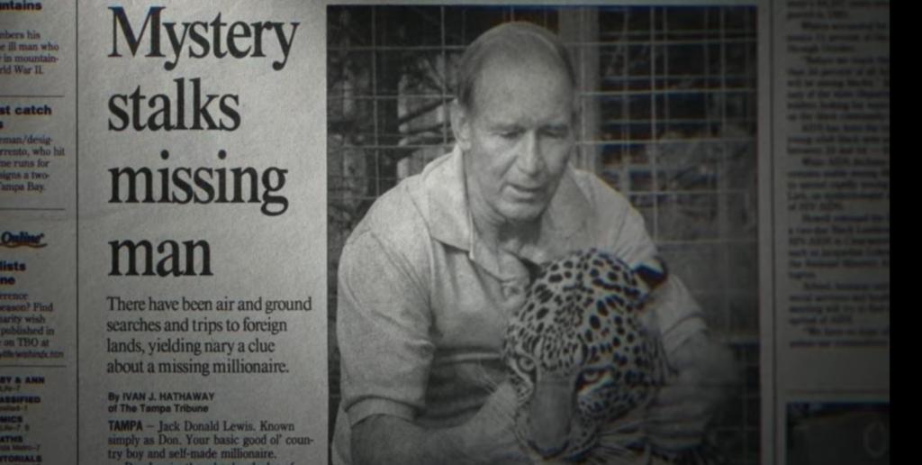 Don Lewis, documentary, Carole Baskin, husband, Tiger King, Netflix, new, investigation, doc, series