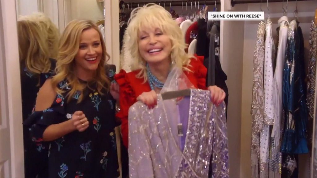 Shine On, Reese Witherspoon, Dolly Parton