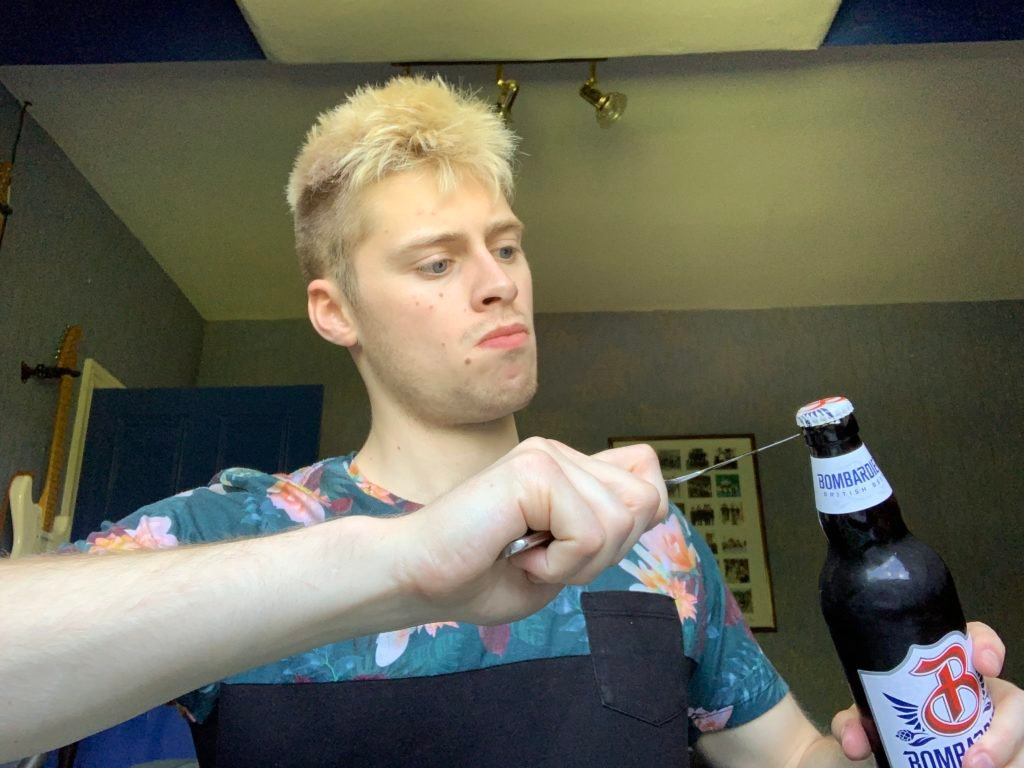 TikTok beer bottle challenge explained: Does tapping beer bottle with a knife on the neck and the body make it easier to knock the top off?