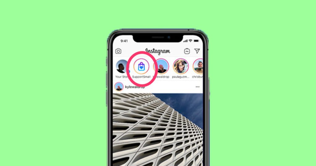 Support local businesses Instagram sticker: What update is and how ...