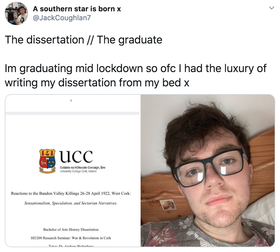 The Dissertation, The Graduate, meme
