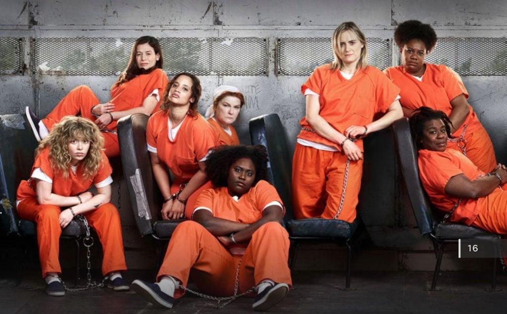 orange is the new black, netflix, cast