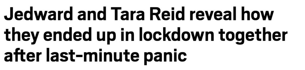 2020, headlines, news, stories, Jedward, Tara Reid, lockdown