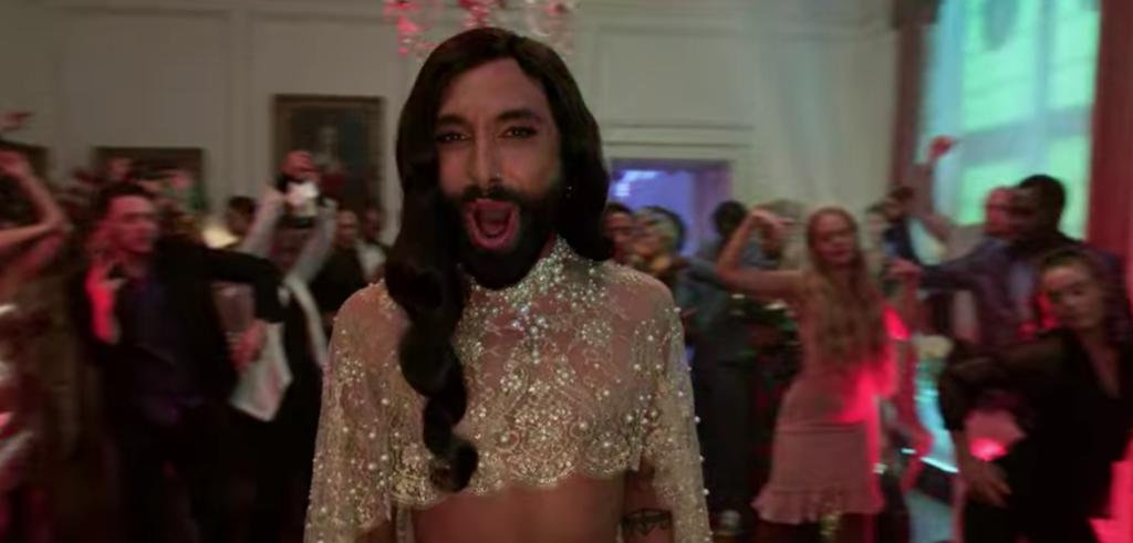 Conchita, Eurovision, Cameo, sing along, Netflix