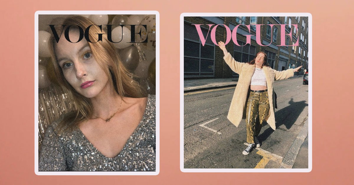 The Vogue Challenge How To Do The Tiktok Cover Challenge