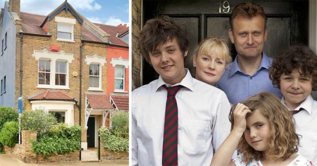 TV show houses, TV, series, house, home, filming location, real life, Outnumbered