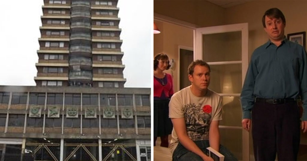 TV show houses, TV, series, house, home, filming location, real life, Peep Show, flat