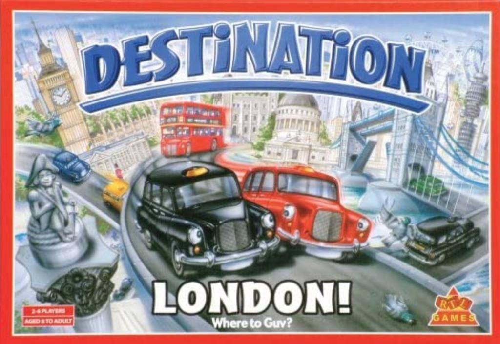 Destination London, Dragon's Den