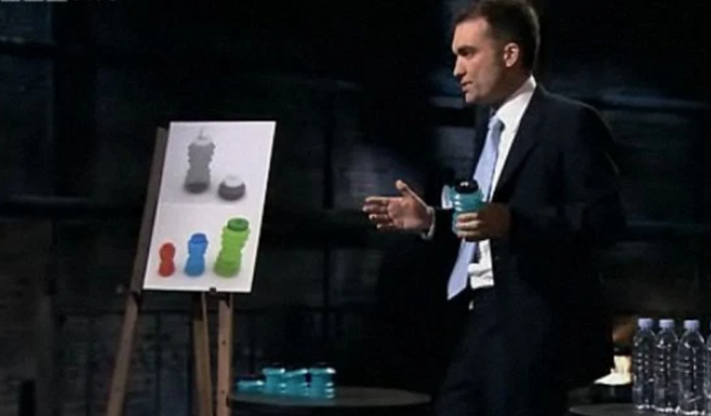 Dragon's Den rejects, Dragon's Den, millions, brands, success, stories, rejects, turned down, Aquatina, water bottle
