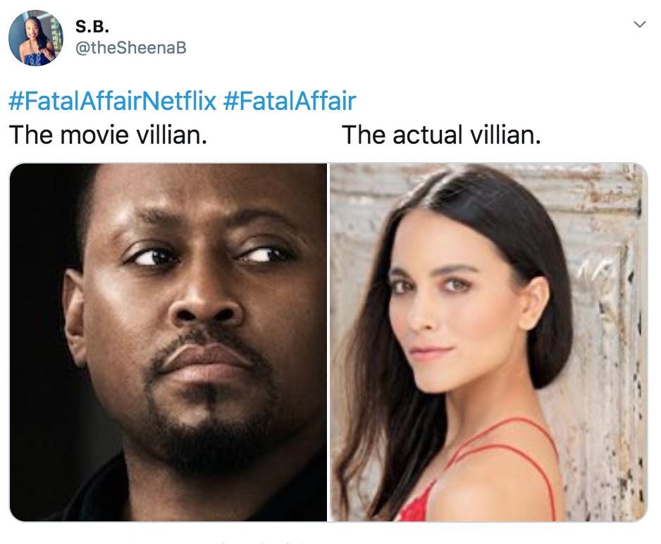Fatal Affair, Netflix, movie, film, memes, meme, reaction, Twitter, funny, best, reviews
