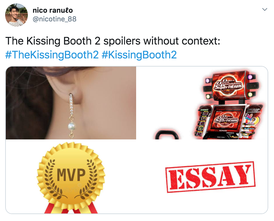 The Kissing Booth 2, memes, Kissing Booth, movie, film, Netflix, reactions