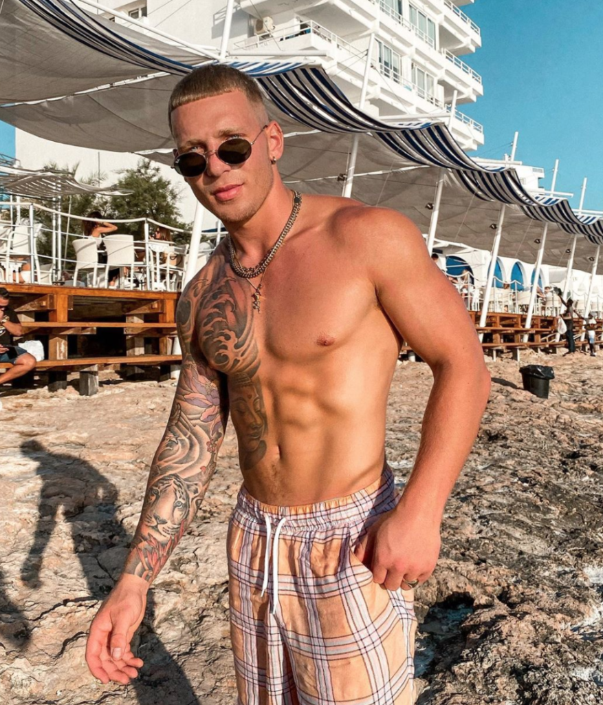 Gabby Allen, new, boyfriend, Love Island, Brandon Myers, model, Instagram, Ibiza, holiday