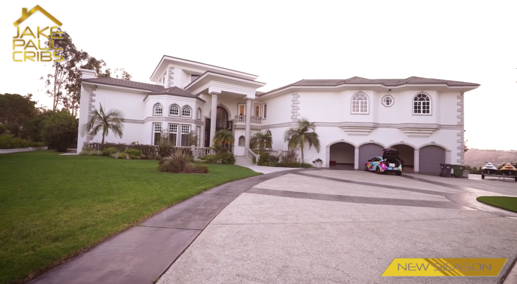 jake paul house, youtuber houses
