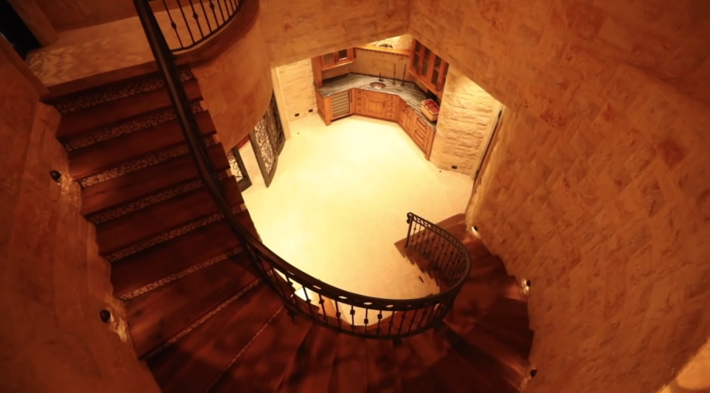 jeffree star staircase, house, youtuber houses