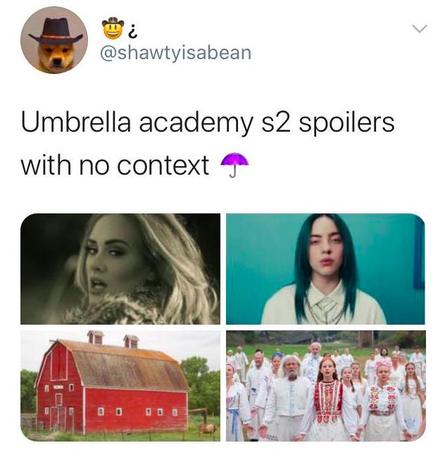 Umbrella Academy memes