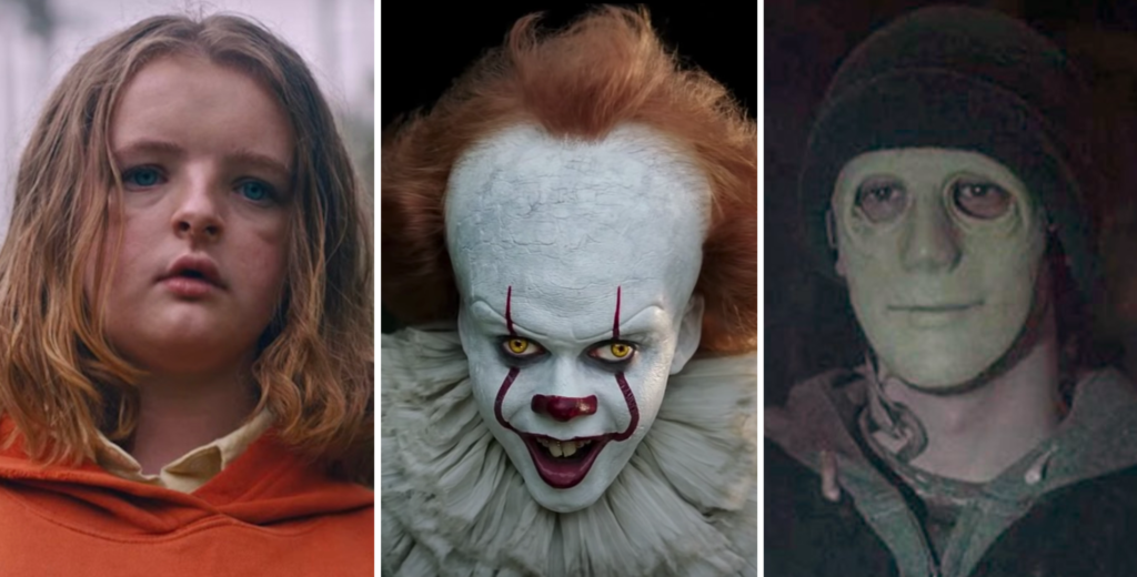 netflix horror films, the tab, pennywise, hereditary